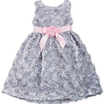 Rare Editions Little Girls' Soutache Dress Size 5