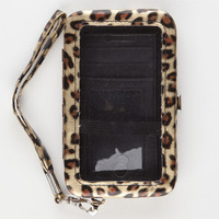 Cheetah Iphone 4/4S Wallet Cheetah One Size For Women 22031243601
