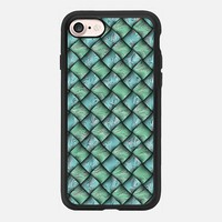 Patchwork Moire Silk iPhone 7 Case by Alice Gosling | Casetify