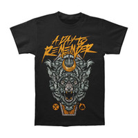A Day To Remember Men's  WolfCasket T-shirt Black Rockabilia