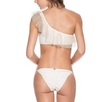 ONDADEMAR Ecru String Bottom
