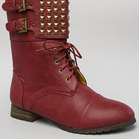 *Sole Boutique The Titan Boot in Burgundy : Karmaloop.com - Global Concrete Culture