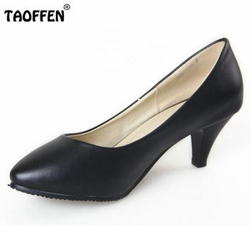 high heel fashion pumps P11368