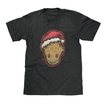 I Am Groot Santa Hat Christmas Shirt Guardians of the Galaxy Available in Adult & Youth Sizes