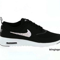 Bling Nike Shoes With Swarovski Elements Crystals