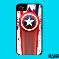 Captain America Inspired iPhone Case iPhone 4 Case iPhone 5 Case iPhone 4S Case  iPhone 5S Case Samsung Galaxy S3 S4 iPad iPad mini