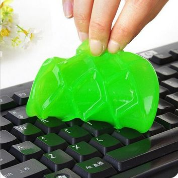 New Fashion Color Random Computer Keyboard Clean Cleaning Cleaner Wipe Compound Cleaner Tool