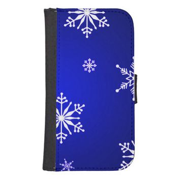 christmas wallet phone case for samsung galaxy s4