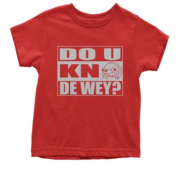 Do You Know The Way Ugandan Knuckle Spicy Meme Youth T-shirt