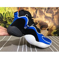 Adidas Crazy Boost BYW Breathable Causal Baketball Shoes Blue