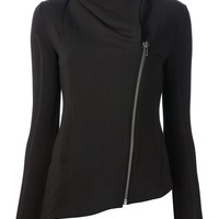 Women  -  All - Helmut Lang 'Villus' Asymmetric Jacket - DIVERSE