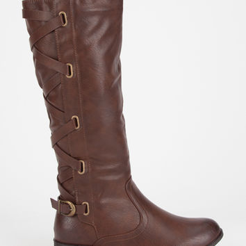 ADRIANA Alicia Womens Riding Boots | Boots & Booties