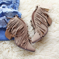 Fringe & Fellow Booties