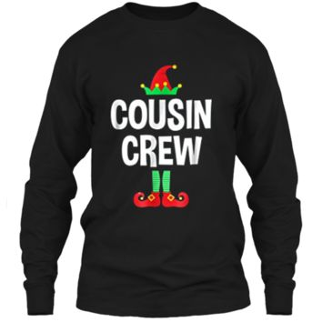 Cousin Crew - Elf  - Family Matching Christmas Pajamas LS Ultra Cotton Tshirt