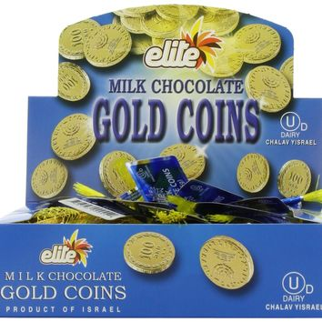 Lowest Priced Chanuka/Hanukah Milk Chocolate Gold Gelt Coins:Amazon:Grocery & Gourmet Food