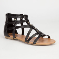 Soda Kells Womens Sandals Black  In Sizes