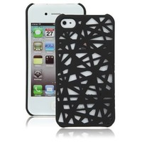 Black Birds Nest Case for Apple iPhone 4, 4S (AT&T, Verizon, Sprint)