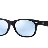 Look who's looking at this new Ray-Ban New Wayfarer Flash