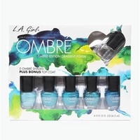 Ombre Nail Set - Blue