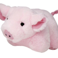 Talking Dog Toy Pig - 7""