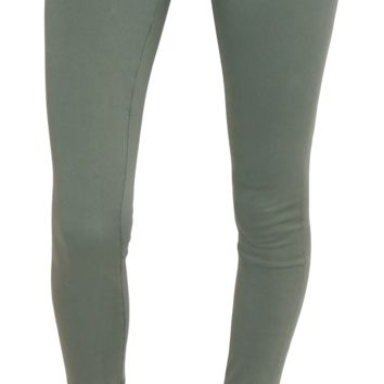 Ag jeans | sateen legging (sulfur sage cliffs)