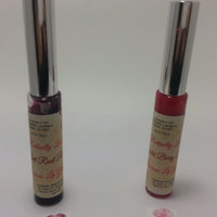 All Natural Lip Gloss, Sweetened with Stevia, and Flavored. Custom Made! Choose color and choose flavor!