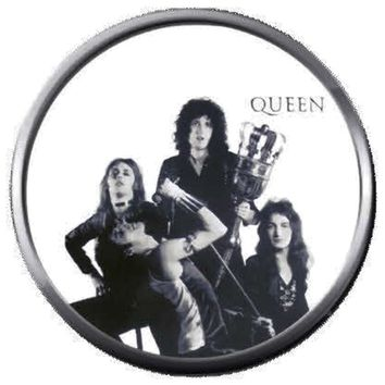 Freddie Mercury And Band Rocks Killer Queen Rock And Roll Hall Of Fame Musicians 18MM - 20MM Fashion Snap Jewelry Snap Charm