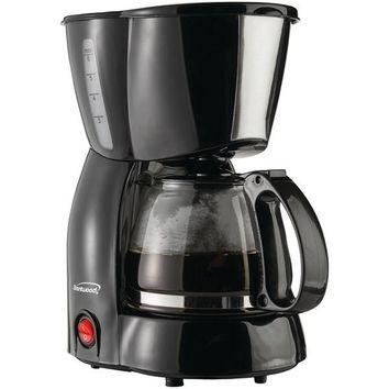 Brentwood Appliances TS-213BK 4-Cup Coffee Maker (Black)