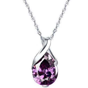 Tear Drop Shaped Pendant