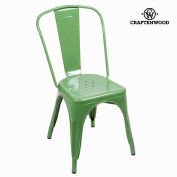 Vintage green chair by Craften Wood
