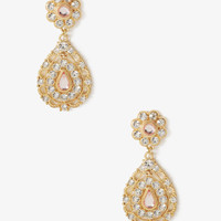 Scalloped Teardrop Princess Earrings