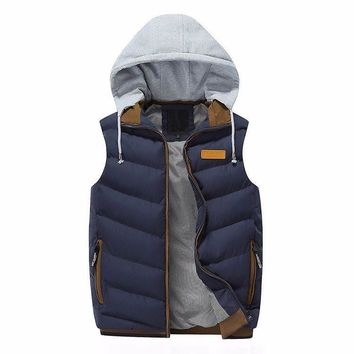 Quilted Vest (4 Colors)