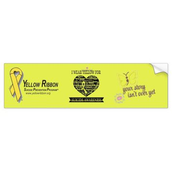 Suicide Awareness And Prevention Bumper Sticker