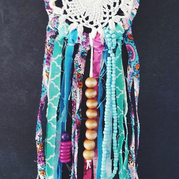 Boho Dream Catcher - Colorful Dream Catcher - Gypsy Dream Catcher - Small Dream Catcher - Dream Catcher - Boho Wedding Decor - Boho Decor