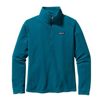Patagonia Women's Micro D® Quarter Zip Fleece | Underwater Blue
