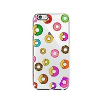 Cute Colorful Donuts Transparent Silicone Plastic Phone Case for iphone 6 _ LOKIshop (iphone 6)