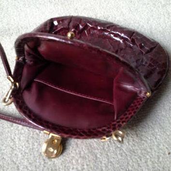 Shop Vintage Snakeskin Purse on Wanelo ab6cc6b445bc5