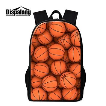 Boys bookbag trendy Dispalang Ball 3D Pattern School Bags for Teenagers 16 inch Backpack Cool s Mochilas for Boys Personalized Back Pack Girl AT_51_3