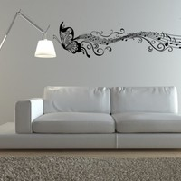 Pitter Patter Musical Notes Wall Decal by DecorDesigns on Etsy