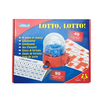 LOTTO - Lottery Machine -  lotto bingo tombola - A game of chance - Bingo for Public Show/Personal Party/Commercial Performance