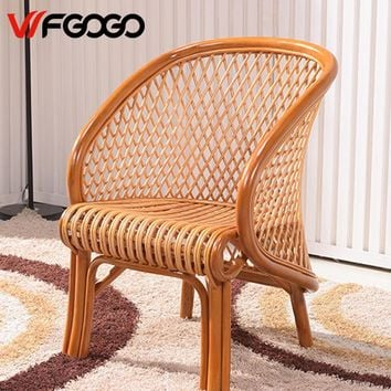 WFGOGO Furniture Rattan Garden Chairs,Tables Indoor-Outdoor Restaurant Stack Coffee Tables Weather Outdoor