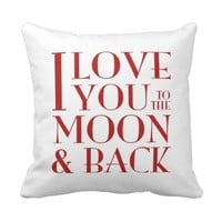 Your photo & 'I love you to the moon & back'