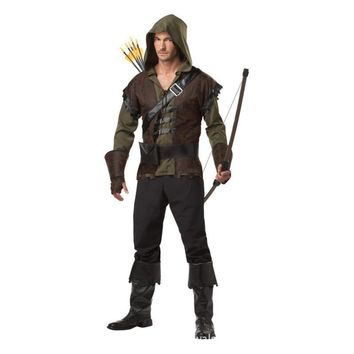 COULHUNT Mens Robin Hood Halloween Costume Thieves Robin Cosplay Cosplay Plus Size Game of Thrones Medieval Warrior Costume