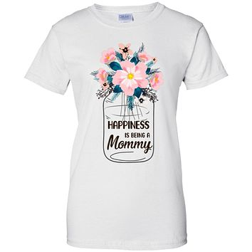 Happiness Is Being Mommy Life Flower Mommy Gifts