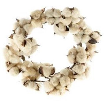 Teastain Cotton Wreath CW/FISB69592