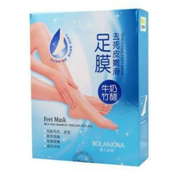 2pieces=1bags Hot MiFo Super Exfoliating Foot Socks For Pedicure Sosu socks Peeling For Foot Care Lulanjina Beauty Feet Mask