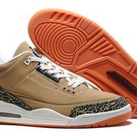 Beauty Ticks Nike Air Jordan Retro 3 Iii Orange Aj3 Discount Men Women Sports Basketball Shoes Sale Online