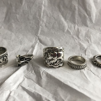 Trunk 5 Piece Ring Set