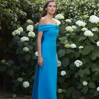 Fleur Off The Shoulder Gown | Moda Operandi