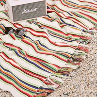 Magical Thinking Playa Stripe Throw Blanket